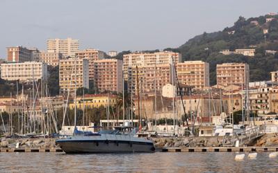 Ajaccio Hafen