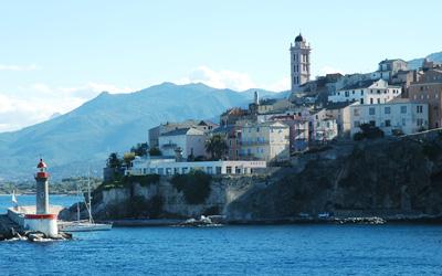 Bastia - der Hafen der Insel