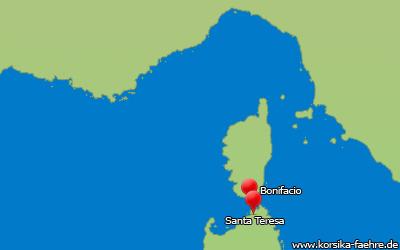 Fähre Santa Teresa Bonifacio